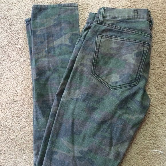 Rude camo skinny jeans! Great condition! Great condition! Rude Pants
