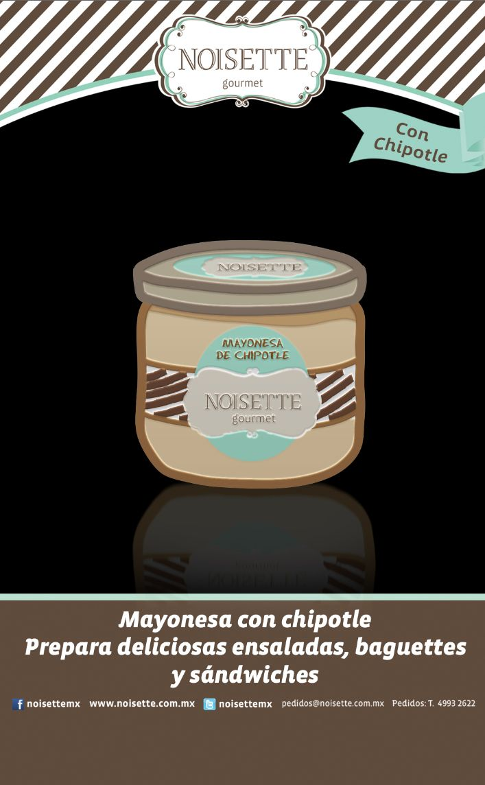 Mayonesa con Chipotle