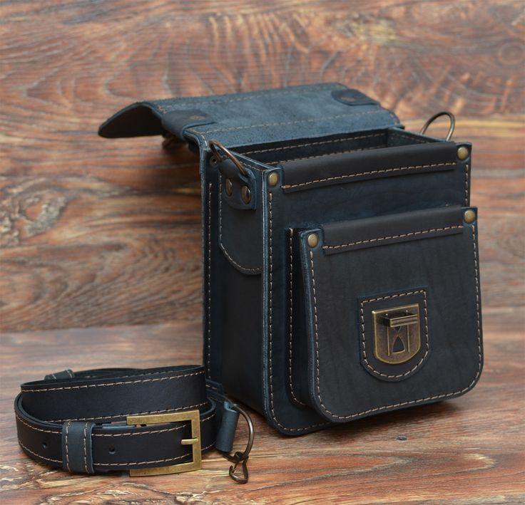 """Кожаные мужские барсетки """" Bag77.ru - кожаные сумки и кожаные мужские портфели ручной работы"""