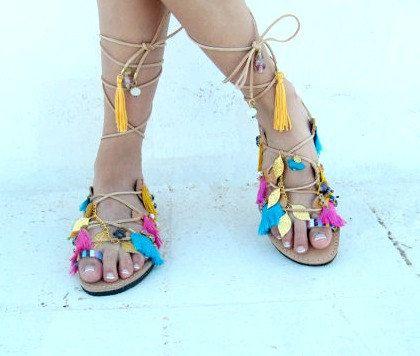 Boho Sandals/ Greek Sandals
