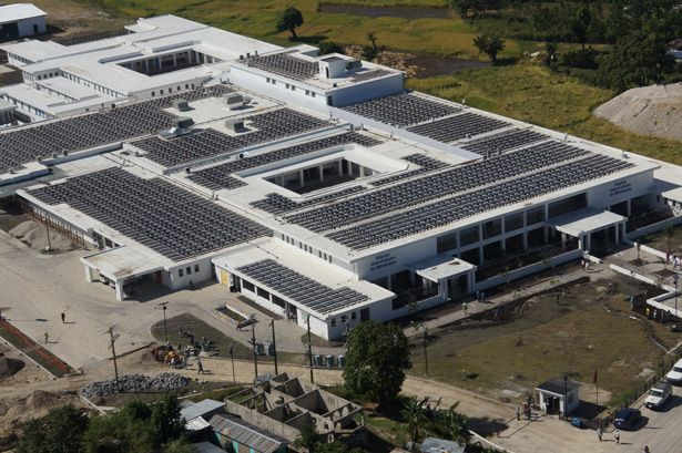 Solar-Powered Hospital in Haiti Yields Sustainable Savings | Partners In Health