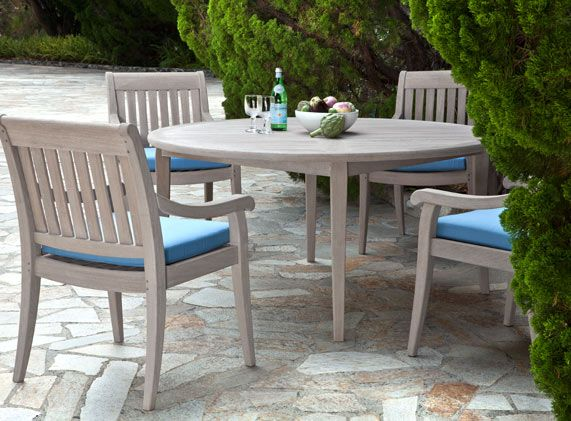 Argento Round Dining Group