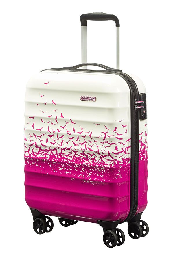 American Tourister Palm Valley 55cm Cabin Luggage Suitcase | Pink | South Africa