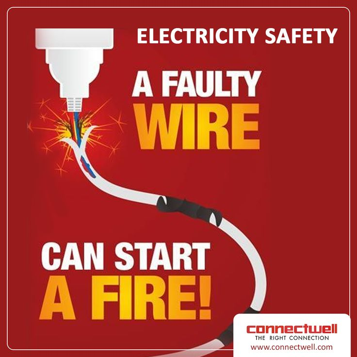 A Faulty Wire Can Start a Fire MondayMotivation