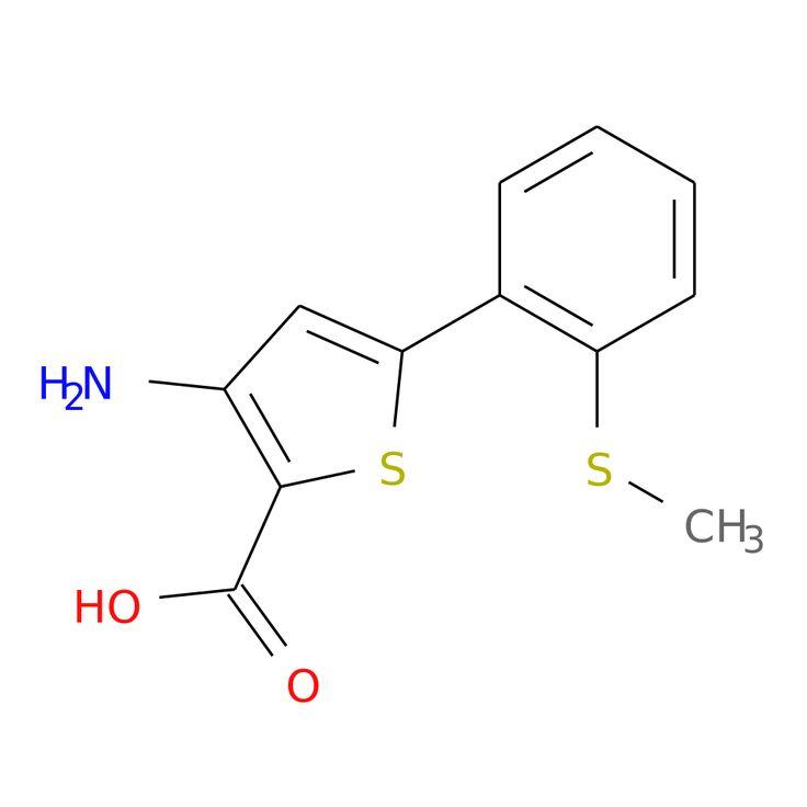 3-AMINO-5-[2-(METHYLSULFANYL)PHENYL]THIOPHENE-2-CARBOXYLIC ACID is now  available at ACC Corporation