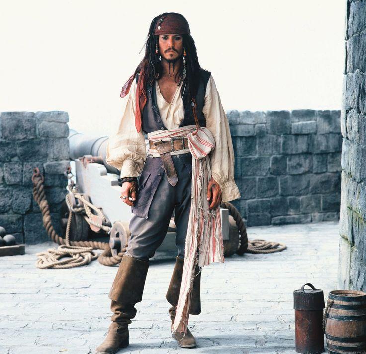 Jack Sparrow: Johnny Depp, Captain Jack Sparrow, Pirates Of The Caribbean, Captainjacksparrow, Costume, Piratesofthecaribbean, Jack O'Connel, Johnnydepp, Black Pearls