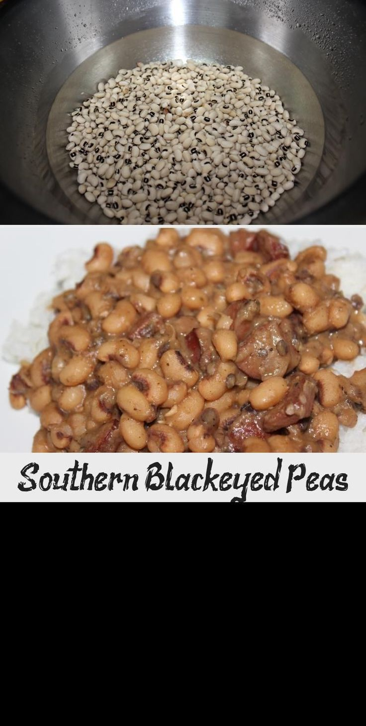 Southern Blackeyed Peas newyearsdayrecipes Looking for a