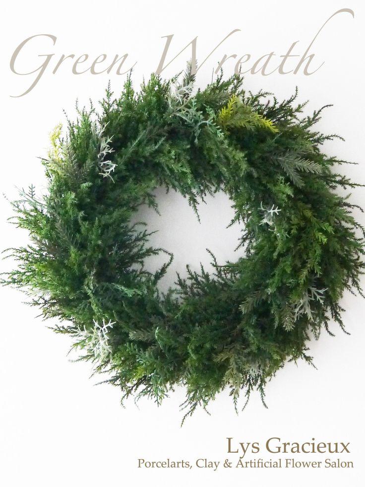 クリスマスフォレストリースレッスンのご案内♪ 札幌ポーセラーツ・フラワー・クレイLys Gracieux〜リスグラシュ〜#札幌#円山#lysgracieux#リスグラシュ#ポーセラーツ#クレイ#フラワー#ポーセリンアート#ハンドメイド#porcelainart#porcelarts#clay#flower#handmade#beautiful#
