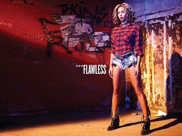 "Beyoncé -  Visual Album Digital Booklet for BEYONCE (2013) ""Flawless"""