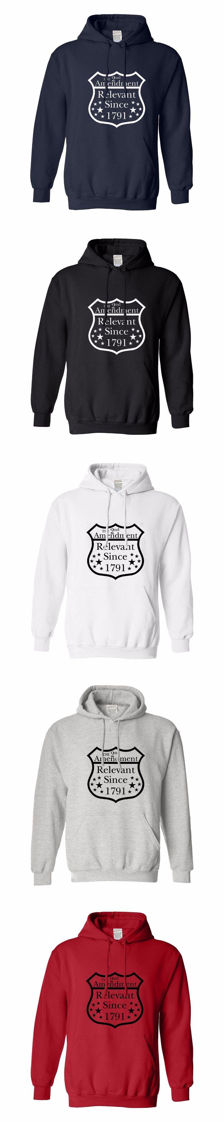 hoodies men clothes hoodies men logo oversized men printed hoodie Gun Lover Gift 2nd Amendment Relevant Since 1791 men's hoodie