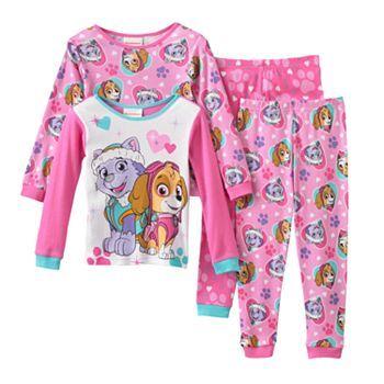 Paw Patrol Skye Amp Everest Pajama Set Toddler Girl Paw