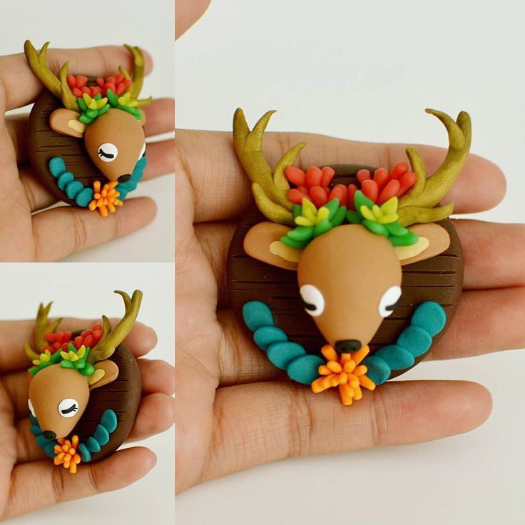 «Deer Succulent,  Your head makes for a nice planter.  Love,  Cam   Sorry for the pun, haha  #deer #deerhead #planter #succulent #clay #trophy #figurine…»