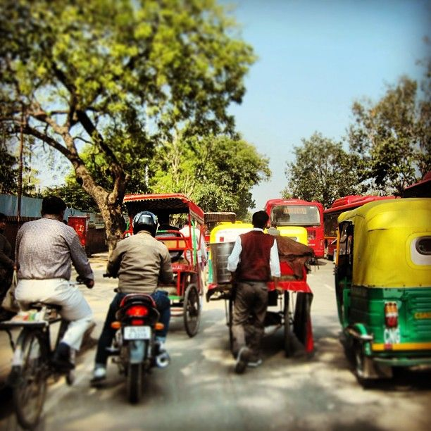 Colors of the road in #Delhi. (at Old Delhi) | The Journal