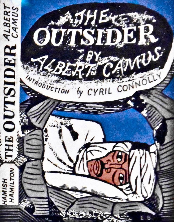 an analysis of albert camus book the outsider Chapter1 contexts 1 biographicalsketch when the stranger was published in 1942 albert camus was 29 years old he was born a year before the outbreak of the first world war and his father was killed in the early battles.