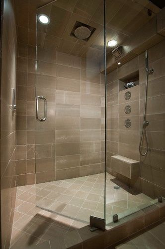 cool rain shower head and main shower head. The main shower head ...