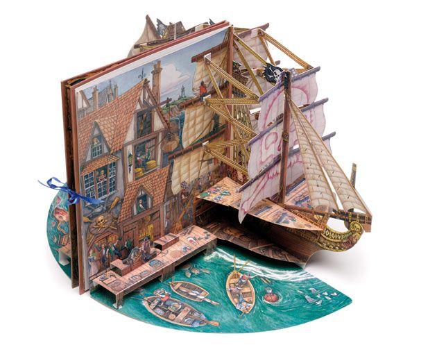 Pirate ship popup.