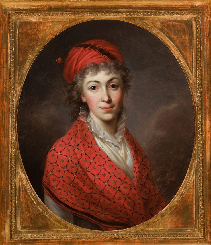 Portrait of Izabela Czartoryska by Kazimierz Wojniakowski, 1796, Muzeum Czartoryskich