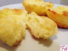 Pão de Queijo Fabíola Bianco: Receitas Dukan  Ingredientes: 2 ovos; 4 colheres (sopa) de leite em pó; 4 colheres (sopa) de requeijão 0% gordura ou light; 150 gramas de queijo light (usei o minas); 1 colher (sopa) de fermento em pó.  Modo de Fazer: Rale o queijo e junte todos os outros ingredientes, mexendo bem. Coloque em forminhas de silicone e leve para assar em forno moderado até eles dourarem.