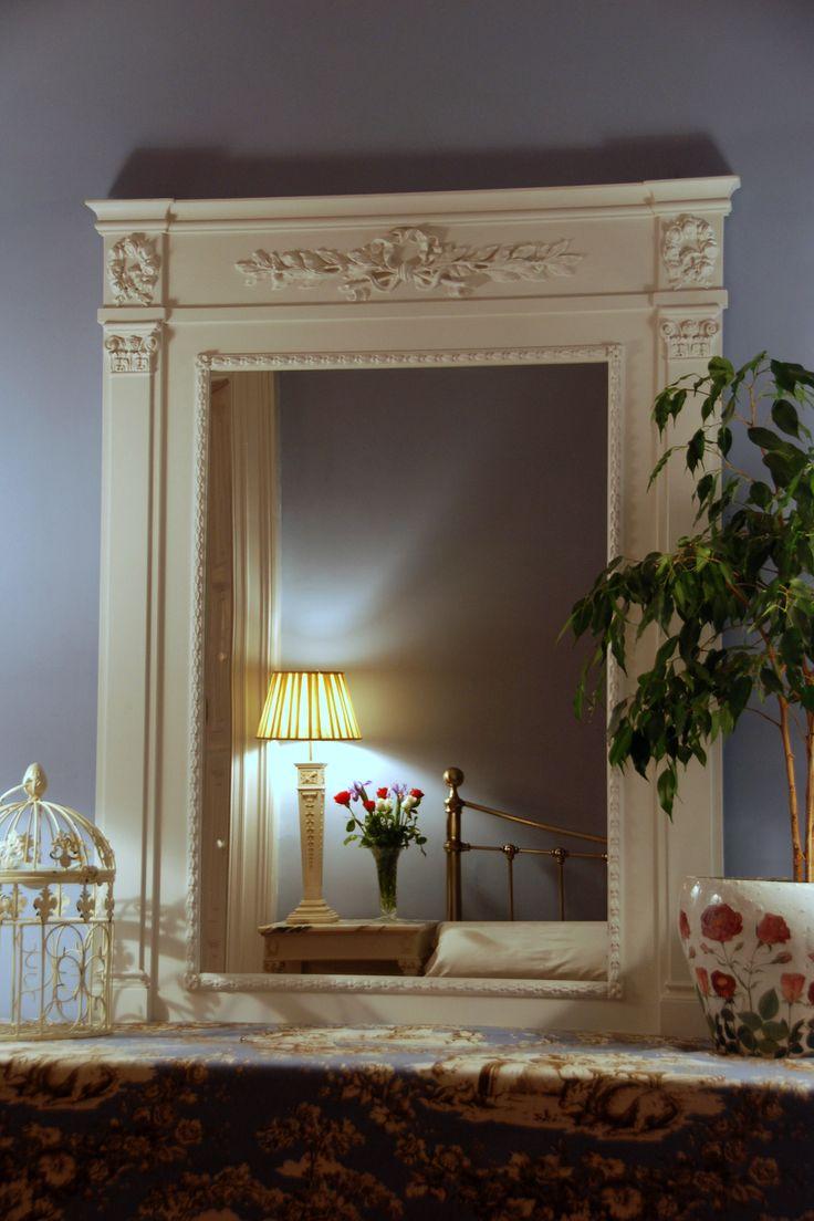 """Victoire"" trumeau style mirror  classicandchic.co.uk"