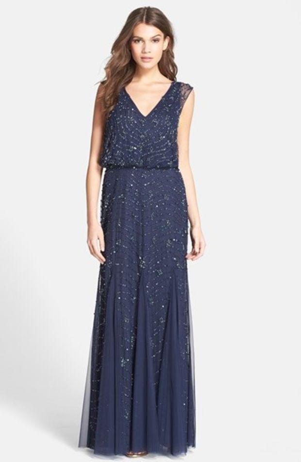 27+ Aidan mattox blouson dress ideas
