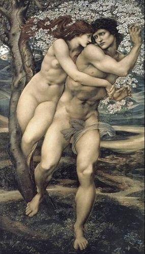 Edward Burne-Jones ~ El árbol del perdón 1882