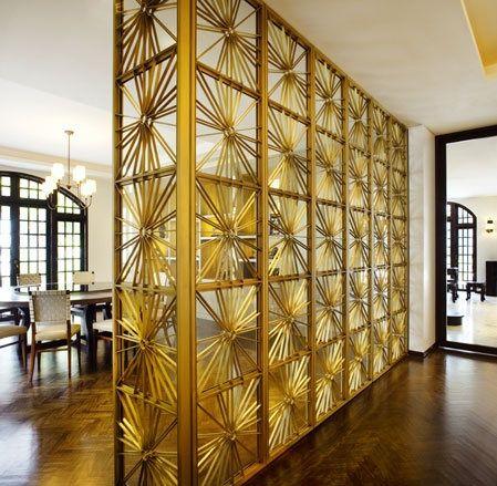 gold room divider - 114 Best Folding Screens & Room Dividers Images On Pinterest