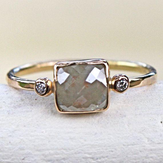 pretty: Cool Rings, Pretty Rings, Everyday Rings, Gorgeous Rings, Rose Cut Diamonds, Vintage Rings, Diamonds Rings, Gold Rings, Engagement Rings