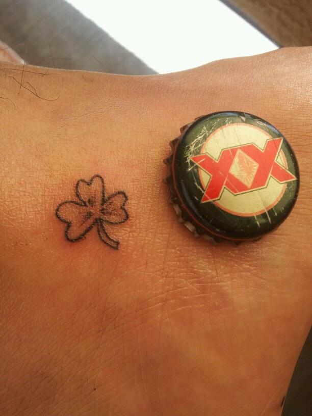 Shamrock Tattoo self did