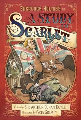 """Le' Grande Codex: Sherlock Holmes in A Study in Scarlet by Sir Arthur Conan Doyle, Gris Grimly (Illustrator)  """"A new way to reacquaint ourselves with Holmes & Watson""""  http://le-grande-codex.blogspot.in/2014/10/sherlock-holmes-in-study-in-scarlet.html"""