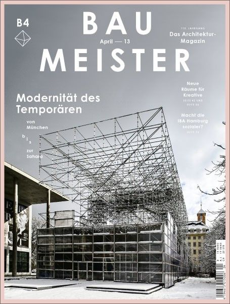 Bau Meister Architectural Magazine Allemagne Germany April 2013