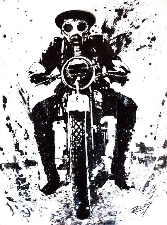 WW1 Biker by RescopeGallery on Etsy