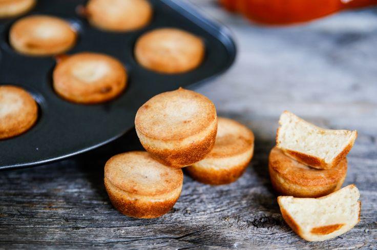 Parmesanpuffar! Lättgjorda små bröd som passar både till maten eller som snacks innan <3