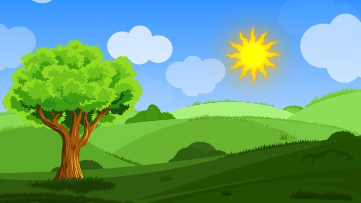 Animated Cartoon Landscape Background In 2020 Cartoon Background Free Cartoons Landscape Background