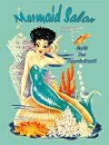 Mermaid Salon Metal Sign $19.99 www.mermaidhomedecor.com - Mermaid NEW (3)
