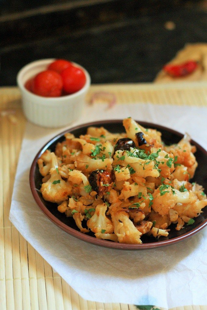 Cauliflower Poriyal recipe - How to make cauliflower poriyal. A simple and tasty cauliflower poriyal recipe which will get cooked in a jiffy with the flavorful Indian spices.