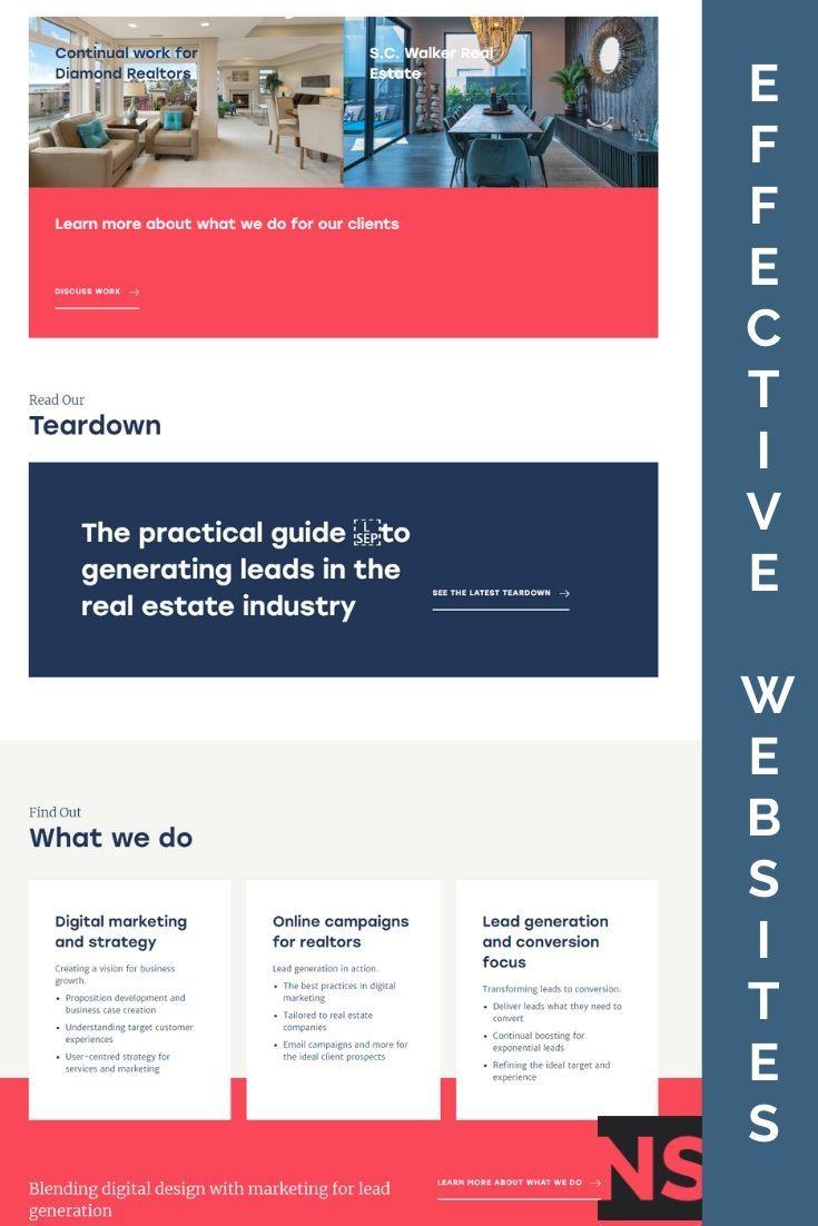 Effective Websites In 2020 Fun Website Design Website Design Web Design Agency