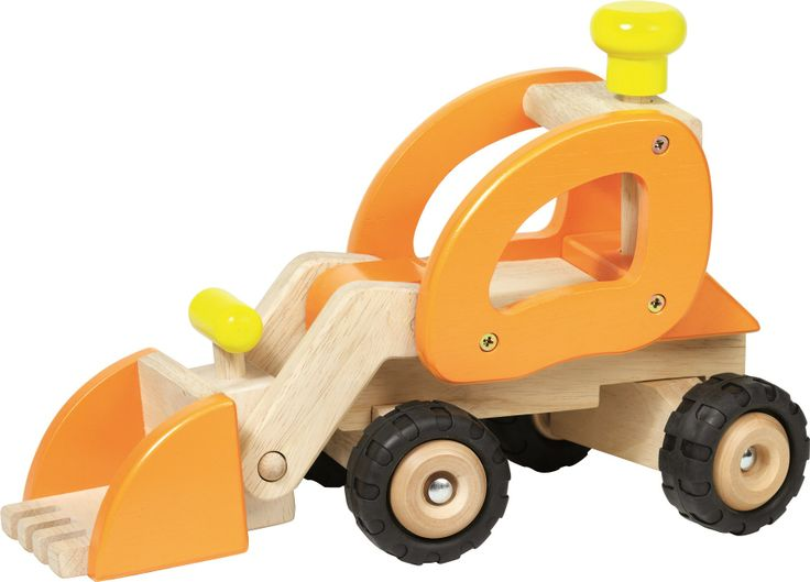 Natural and high quality toys to the development of the skills of children. Wheel loader