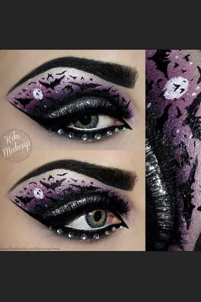 160 best Halloween Eyes & Lips Make-up images on Pinterest ...