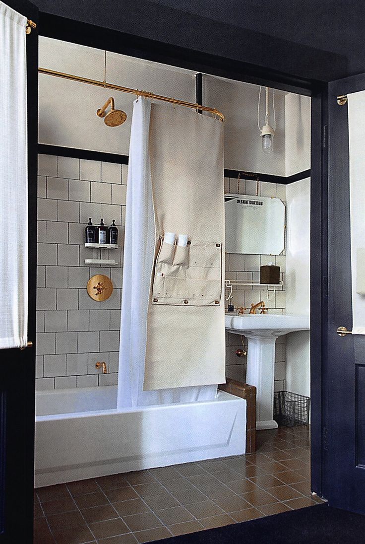 Copper Fittings At Ace Hotel New York. Copper BathroomBathroom DoorsBathroom  InteriorWashroomDesign ...