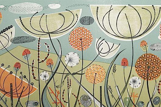 Angie Lewin prints
