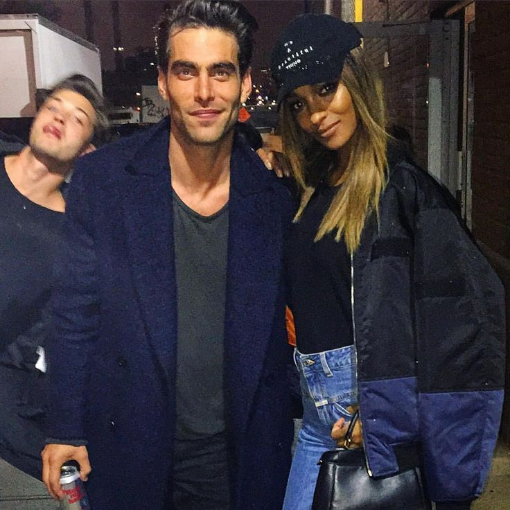 Chico Photobomb | Jon Kortajarena, Francisco Lachowski, Jourdan Dunn and Francisco Lachowski by Jordan Kale Barrett