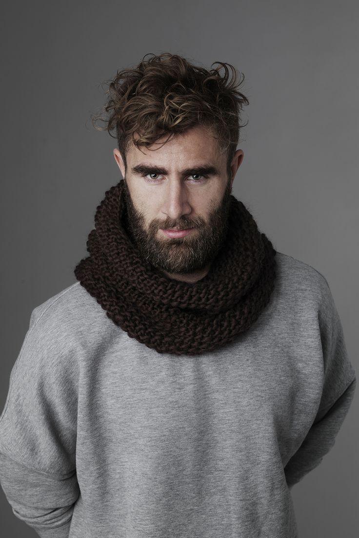 Infinity scarf www.pandurohobby.com  Panduro #knitting #DIY #knit #yarn