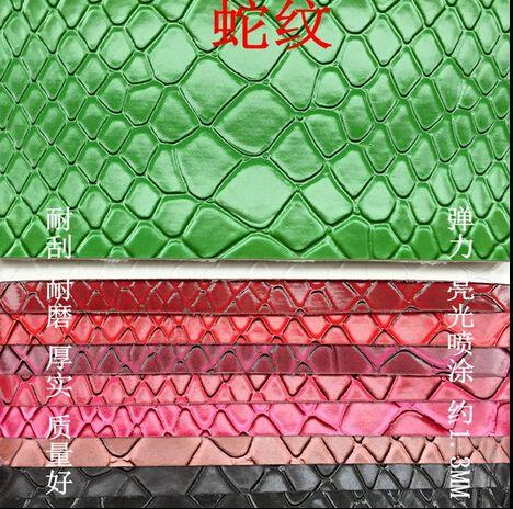Cuoio пецци, ткань обивки мебели, ткани для автомобильных сидений, кожаная обувь украшения, черный блеск ткани, змея Картина, 1210006 купить на AliExpress