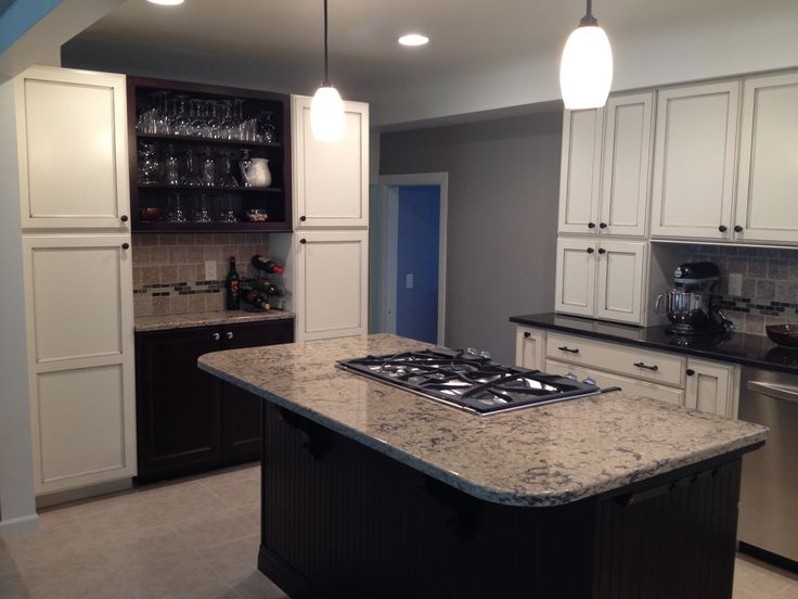 Remodel Of Kitchen Still Keeps The Chic Architecture Of The Home But Has An  Updated Look To It With Kabinart Cabinets And Cambria Quartz Tops.