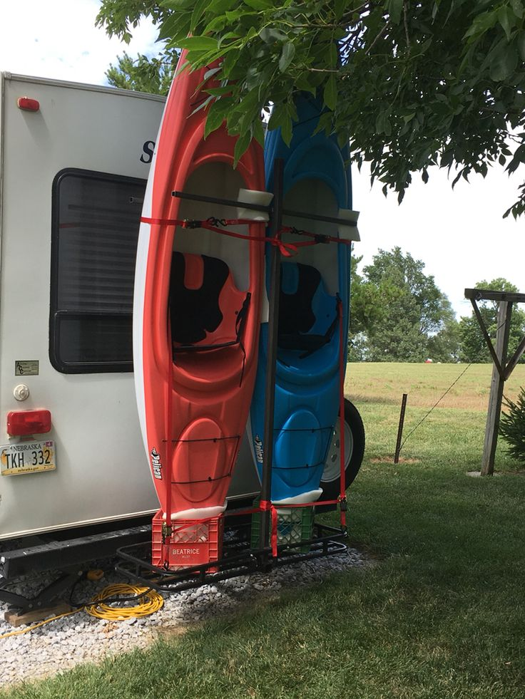 25+ unique Kayak rack ideas on Pinterest | Kayak storage ...