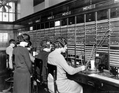 1927 - AT&T begins transatlantic telephone service, initially between the U.S. and London. The conversations crossed the Atlantic via radio. The initial capacity is 1 call at a time, at a cost of $75 for the first 3 minutes.