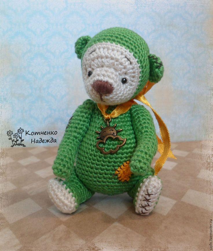 Зу Гринн. Медвежата крючком. Медвежонок, мишка, мишка тедди, crochet, crochet toy