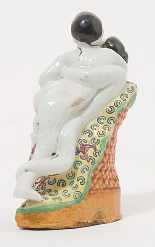 Chinese Loving Couple by Anonymous (Chinese Sculpture)