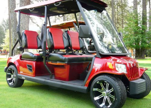 Tomberlin Emerge Golf Cart Custom Two Toned Suite Bucket