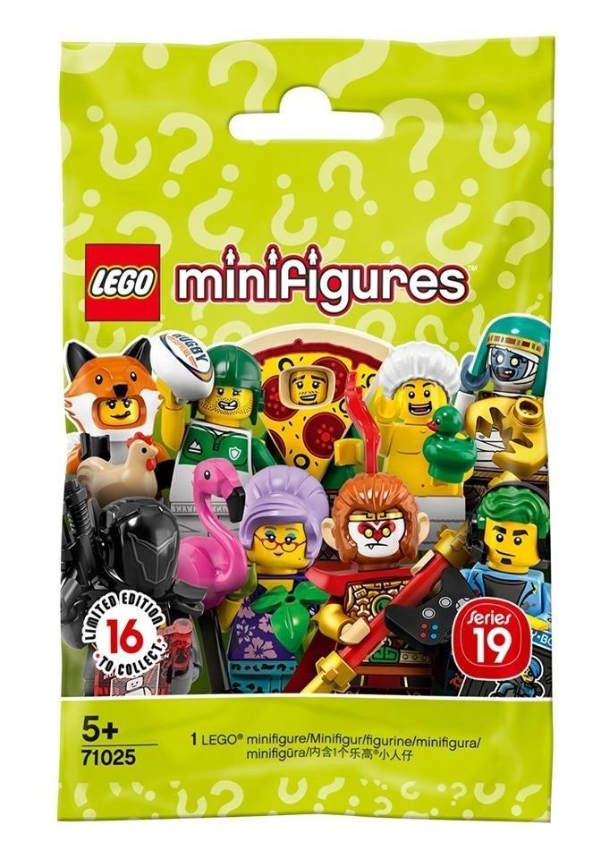 Lego minifigures series 5 unopened sealed random mystery blind bags packs